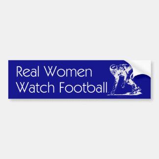 TOP Football Women Bumper Sticker