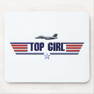 Top Girl Logo Mouse Pad