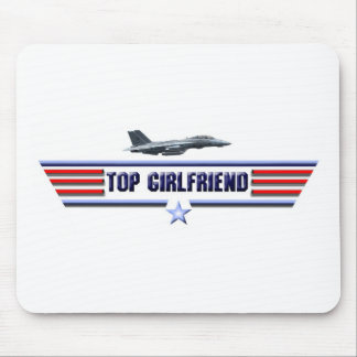 Top Girlfriend Logo Mouse Pads