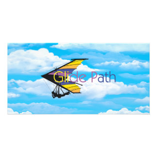 TOP Glide Path Photo Greeting Card