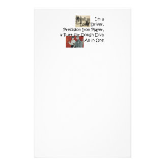 TOP Golf Diva All in One Personalised Stationery