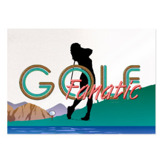 TOP Golf Fanatic Business Card Templates