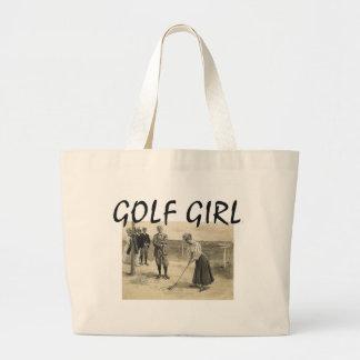 TOP Golf Girl Jumbo Tote Bag