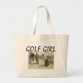 TOP Golf Girl Large Tote Bag