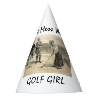 TOP Golf Girl Party Hat
