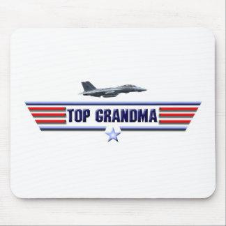Top Grandma Logo Mouse Pads