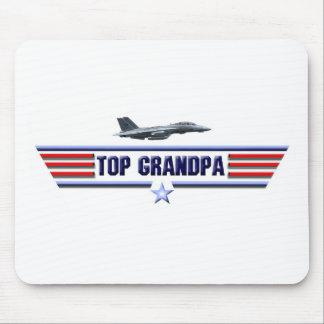 Top Grandpa Logo Mousepads