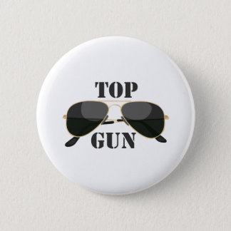 Top Gun 6 Cm Round Badge