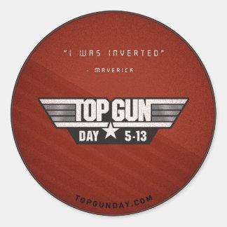 Top Gun Day Sticker v2 - I Was Inverted