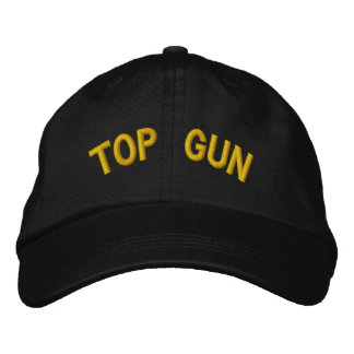 TOP GUN EMBROIDERED HAT