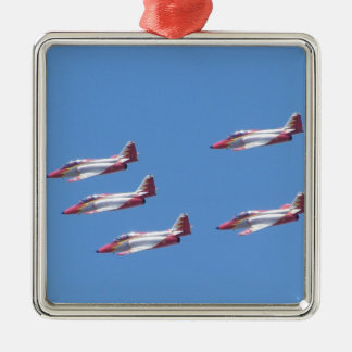 Top Gun in the air. Christmas Ornament