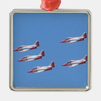 Top Gun in the air. Christmas Ornament