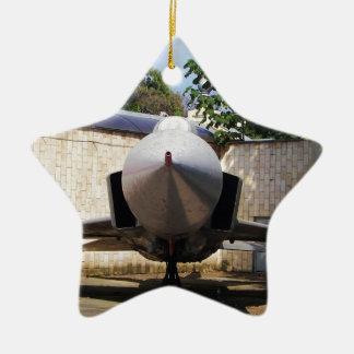 Top Gun in the suburbs. Christmas Ornament