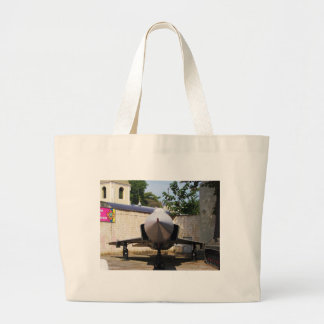 Top Gun in the suburbs. Large Tote Bag