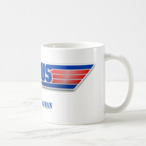 Top Gun Logo Jesus Christ Wingman Movie Mug