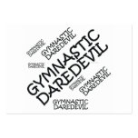 TOP Gymnastics Daredevil Business Card Templates