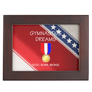 TOP Gymnastics Dreams Keepsake Box