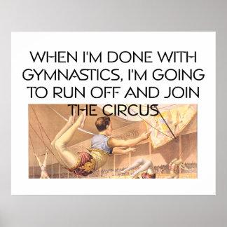 TOP Gymnastics Humor Posters