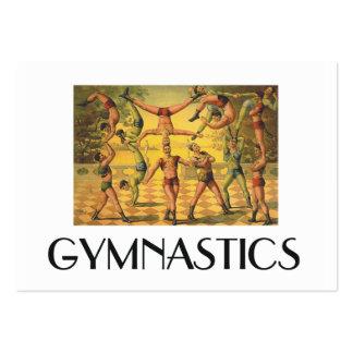 TOP Gymnastics Old School Business Cards