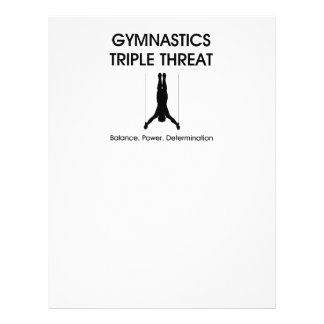 TOP Gymnastics Triple Threat Flyer Design