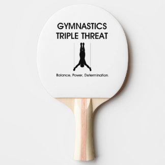 TOP Gymnastics Triple Threat Ping Pong Paddle