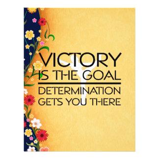 TOP Gymnastics Victory Slogan 21.5 Cm X 28 Cm Flyer