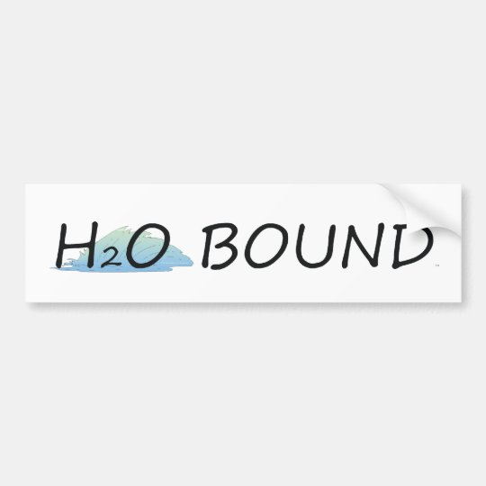 TOP H2O Bound Bumper Sticker