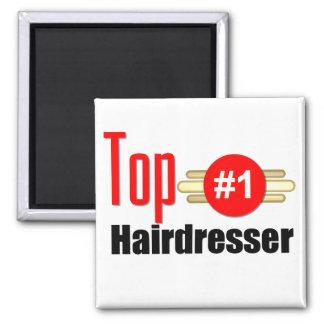 Top Hairdresser Refrigerator Magnet