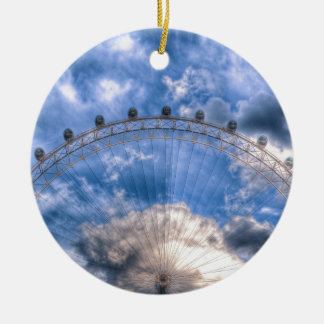 Top half of the London Eye Christmas Ornament