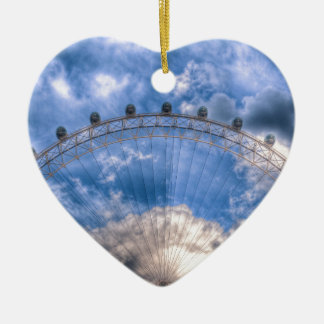 Top half of the London Eye Christmas Ornament