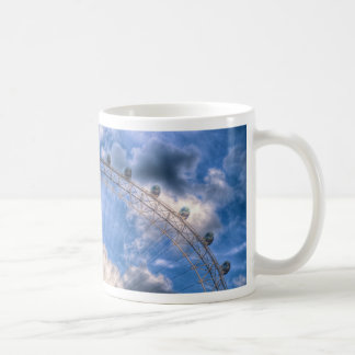 Top half of the London Eye Coffee Mug