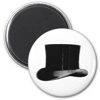 top hat 6 cm round magnet