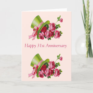 Happy 31st Anniversary Gifts Gift Ideas Zazzle Uk