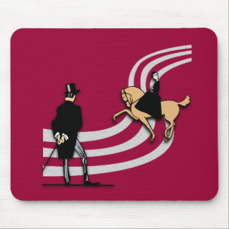 Top Hat and Tails Mouse Pads