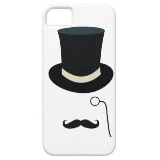 Top hat eyeglass iPhone 5 case