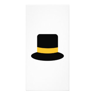 Top hat photo cards