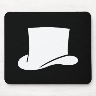 Top Hat Pictogram Mousepad