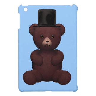 Top hat posh Teddy Bear Cover For The iPad Mini