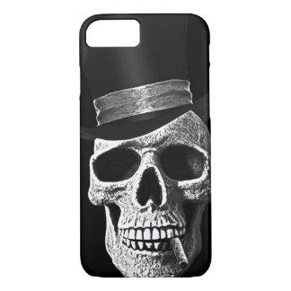 Top hat skull iPhone 7 case