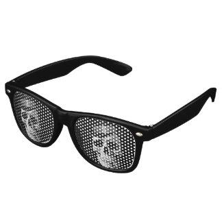 Top hat skull retro sunglasses