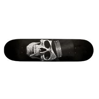 Top hat skull skateboards