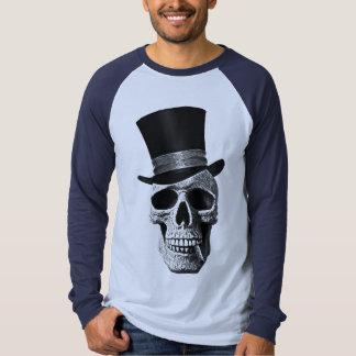 Top hat skull tshirt