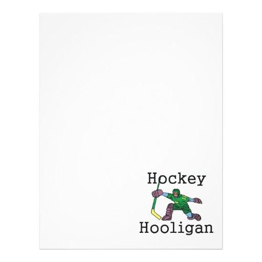 TOP Hockey Hooligan Personalized Flyer