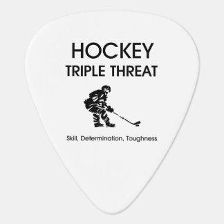TOP Hockey Triple Threat Guitar Pick
