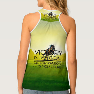 TOP Horse Race Victory Slogan Tank Top