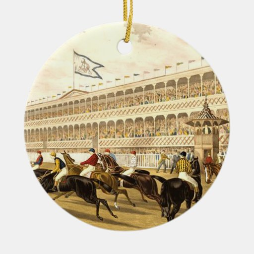 TOP Horse Racing Christmas Tree Ornaments