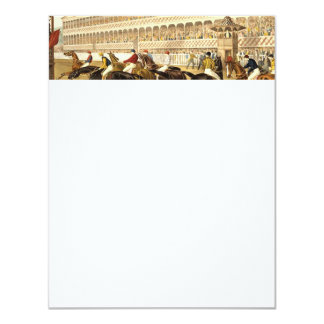 "TOP Horse Racing 4.25"" X 5.5"" Invitation Card"