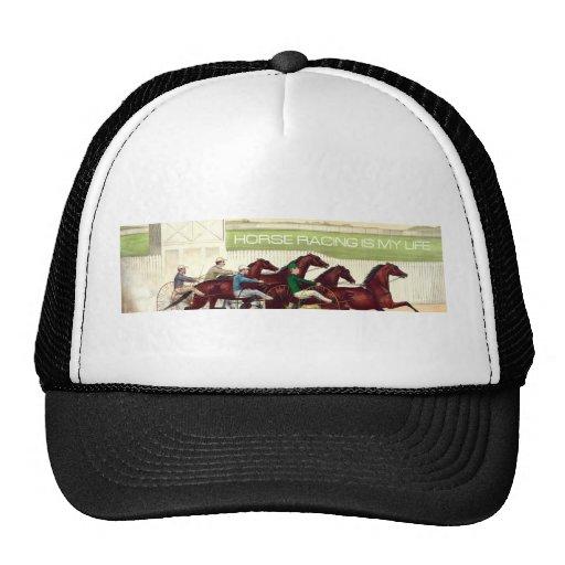 TOP Horse Racing Is My Life Mesh Hats