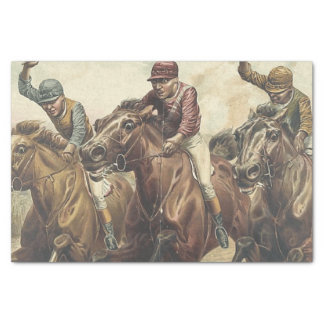 TOP Horse Racing Tissue Paper
