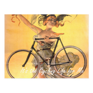 TOP It's the Cycling Life for Me Postcard